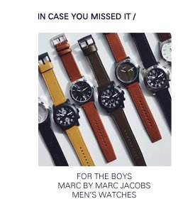 Marc by Marc Jacobs | Men's Watches