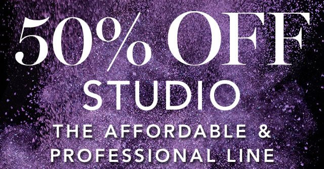 50% Off Studio The Affordable &  Professional Line