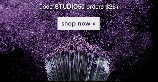 Code STUDIO50 Shop Now!