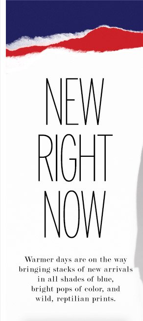 New Right Now - Women's