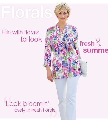 Flarals - Flirt with florals to look fresh & summery