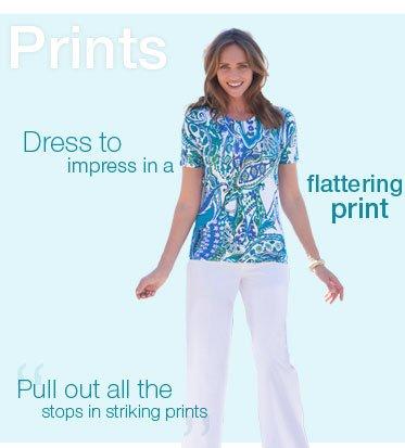 Prints - Dress to impress in a flattering print