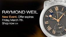 Raymond Weil flash sale