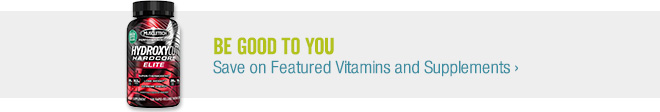 Be Good to You - Save on Featured Vitamins & Supplements
