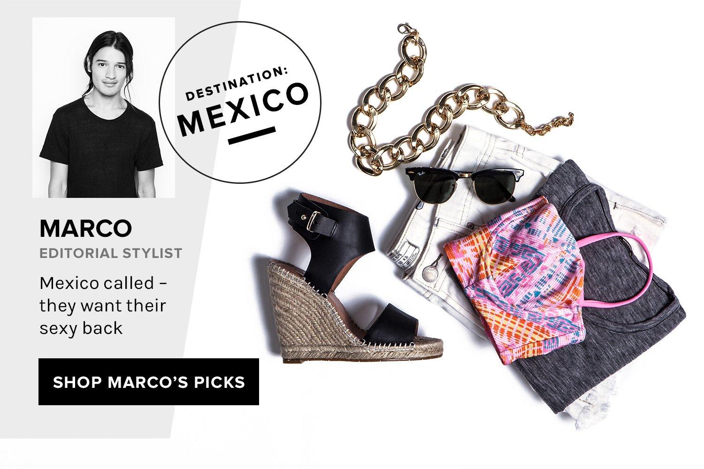 Destination: Mexico