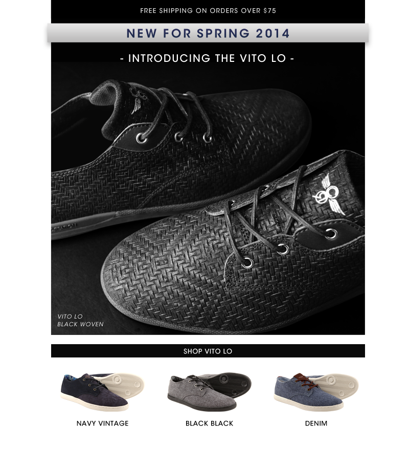 New for Spring 2014 Vito Lo