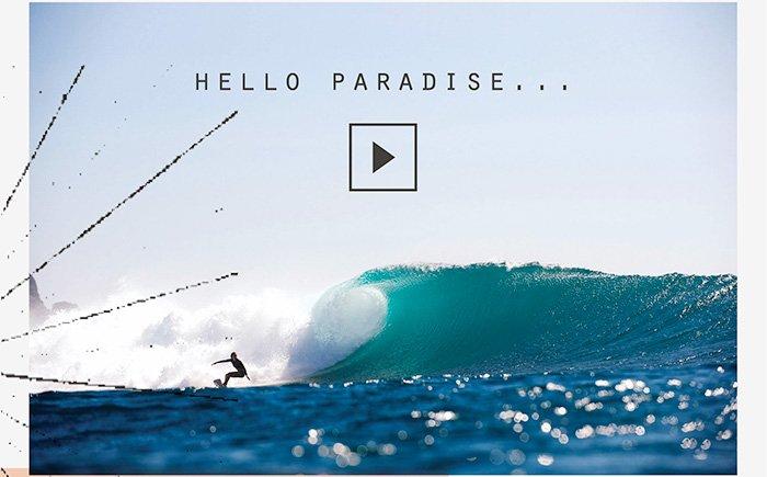 Hello Paradise...