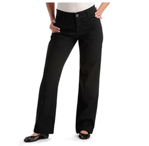 RELAXED PLAIN FRONT PANTS