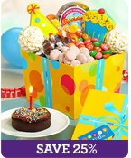 Great Big Birthday Sweets & Treats Tower Shop Now