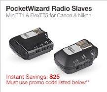 PocketWizard Radio Slaves