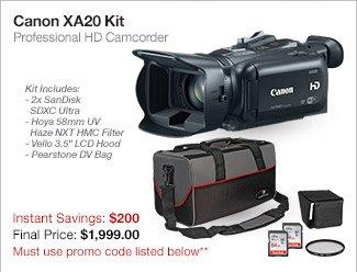 Canon XA20 Kit