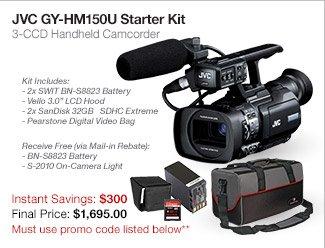 JVC GY-HM150U