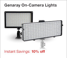 Genaray On-Camera Lights