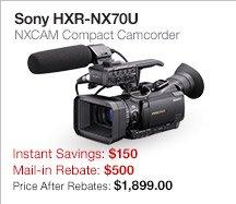 Sony HXR-NX70U