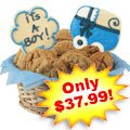 Bouncin' Baby Boy Basket