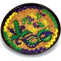 Mardi Gras Cookie Cake