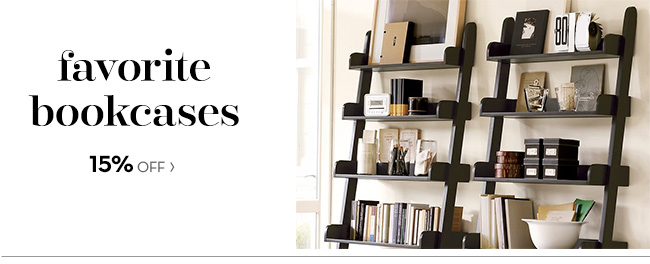 FAVORITE BOOKCASES