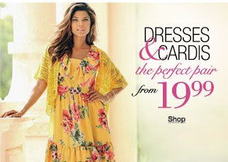 Dresses and cardis
