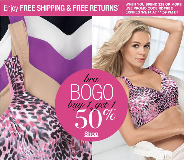 Enjoy Free shipping and Free returns when you spend $25 or more! Use RDFREE