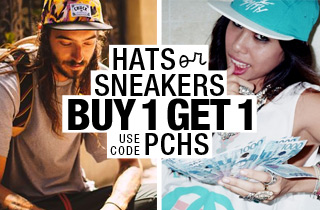 Pick & Choose: Hats OR Sneakers BOGO