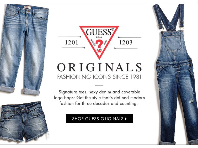 Shop Guess Originals