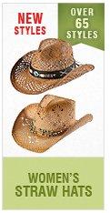Womens Straw Hats