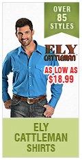 Mens Ely Cattleman Shirts