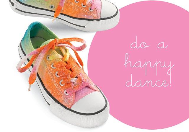 rainbow sparkle shoes