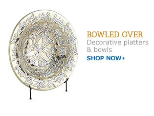 Shop platters and bowls