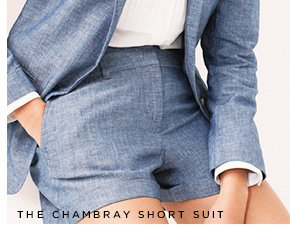 THE CHAMBRAY SHORT SUIT