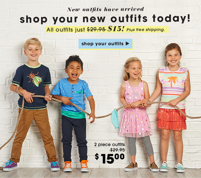 New Outfits Are Here + Your First Outfit $15!