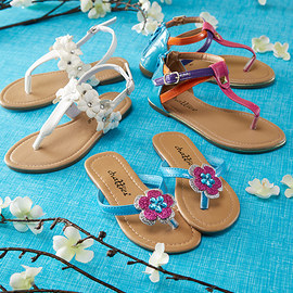 Fashionable Footsteps: Girls' Sandals