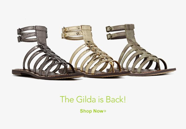 The Gilda is Back! Shop Now.