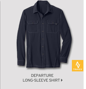 Shop Men's Departure Long-Sleeve Shirt