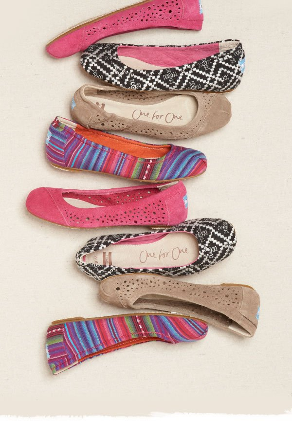 The classic ballet flat, updated with luxe new patterns and colors