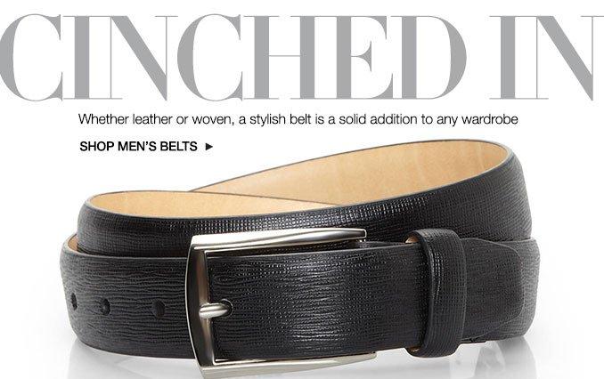 Shop Belts- Men.