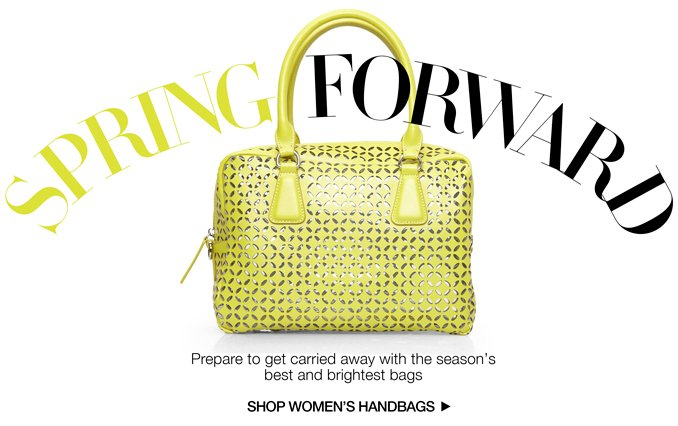 Shop Spring Bags.