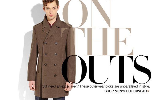 Shop Outerwear - Men.