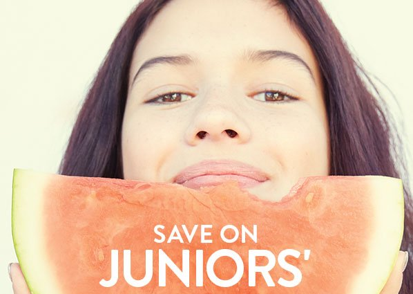 SAVE ON JUNIORS'