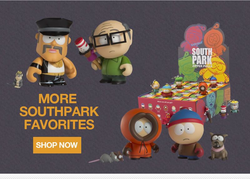 More South Park Favorites.  Shop Now