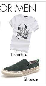 T-shirts> &Shoes>