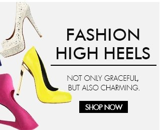 FASHION HIGH HEELS NOT ONLY GEACEFUL,BUT ALSO CHARMING SHOP NOW