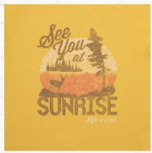 Women's See You At Sunrise Tee