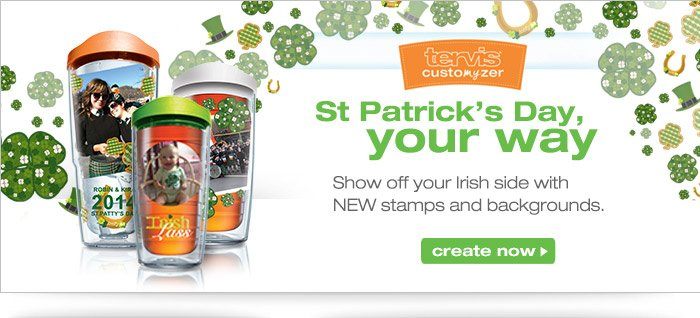 Create the perfect St. Patrick's Day design