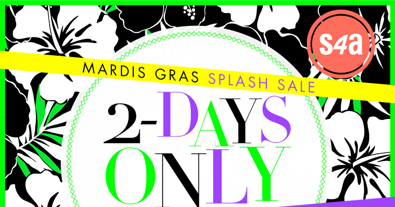 Splash Sale - 2 Days Only
