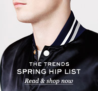 The Trends: Spring Hip List. Read & shop now