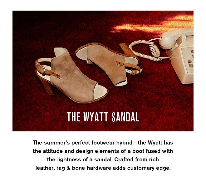 The Wyatt Sandal