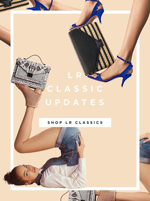 Shop LR Classics Shoes and Handbags at the Official Loeffler Randall Online Store www.LoefflerRandall.com