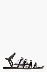 3.1 PHILLIP LIM Black Leather Ella Sandals for women
