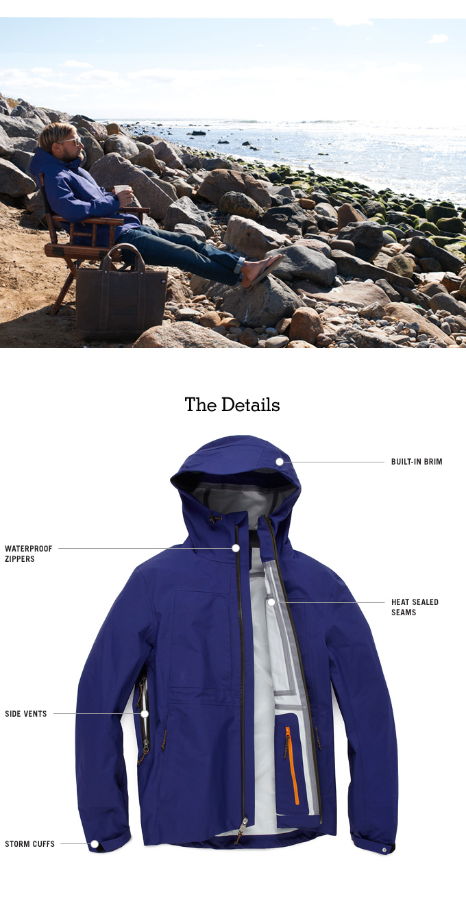 The shell provides protection from the elements with an incredibly strong nylon that has been fused with a breathable, waterproof membrane.
